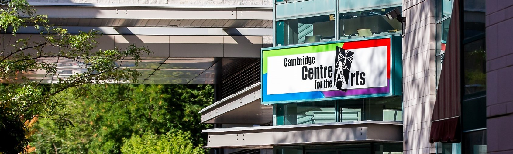 Centre for the Arts sign