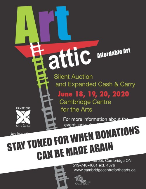 Art Attic cancelled for 2020