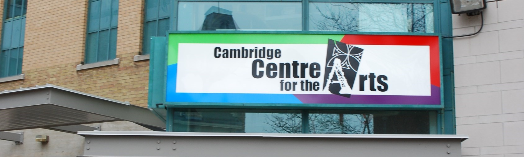 entrance to the Centre for the Arts